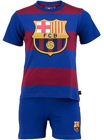 FC Barcelona - Juego oficial de camiseta y pantalones cortos ...