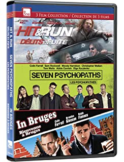 com in bruges colin farrell brendan gleeson ralph  hit and run seven psychopaths in bruges triple feature