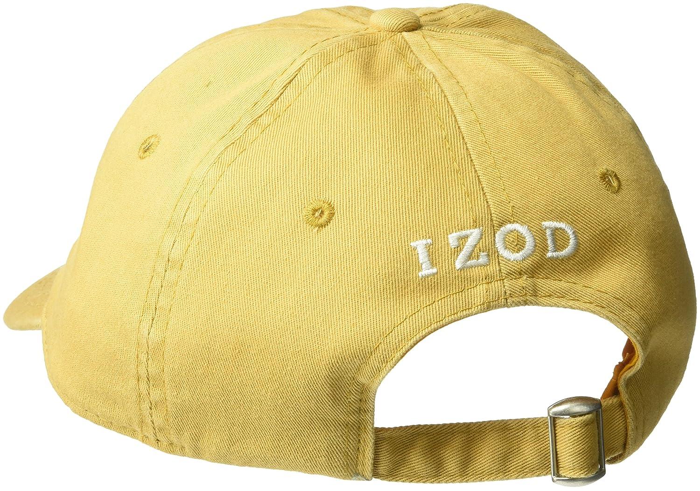 Amazon.com: IZOD Mens Felt Embroidered Patch Adjustable Baseball Cap, Green, One Size: Clothing