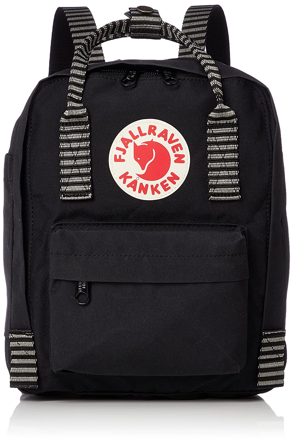 [フェールラーベン] リュック Kanken Mini 23561-Official B07994XHHW Black-Striped Black-Striped