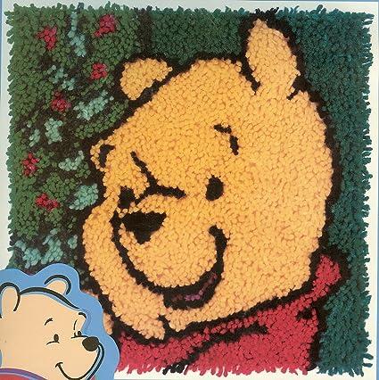 pooh christmas latch hook kit - Pooh Christmas