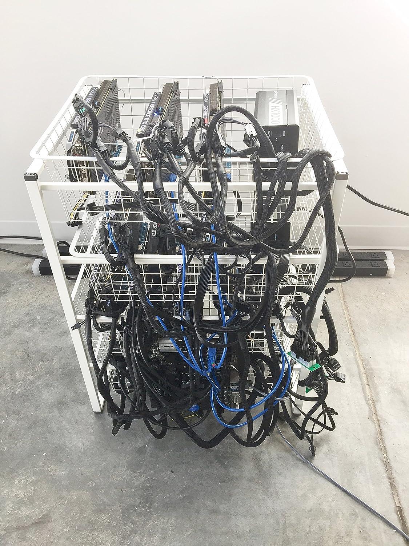 Amazon com: Cryptocurrency Mining Rig (Ethereum, Monero