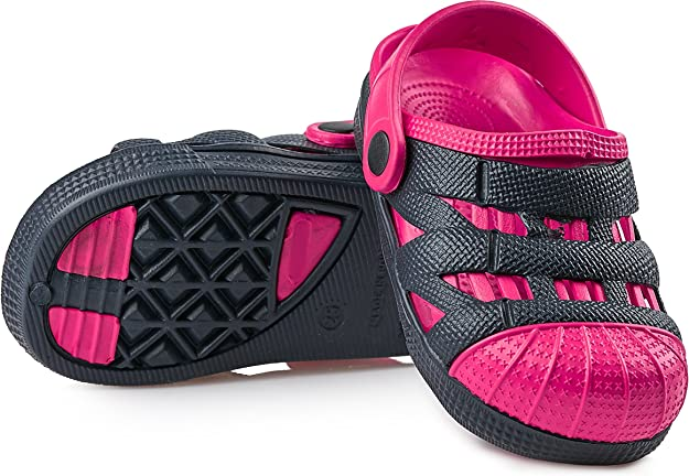 Ladeheid EVA Clogs Sabots Sandales Unisexe Enfant KL056