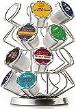 Java Concepts. Steel Carousel Holder Organizer for 24 Keurig K-Cup Pods. Chrome
