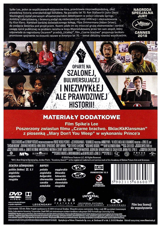 BlacKkKlansman DVD IMPORT No hay versión española ...