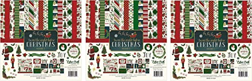 Echo Park Paper Company Night Before Christmas Collection Kit Vol. 1 hr P ck