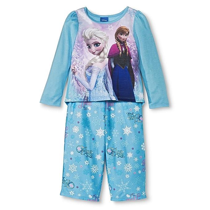 Disney Frozen princesas Anna y Elsa Azul Pijama para los niños