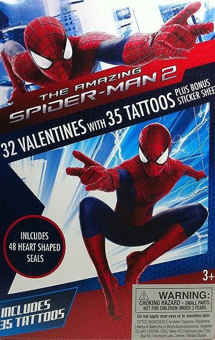 Spider-Man 2 Deluxe 32 San Valentín con 35 tatuajes + Spiderman ...