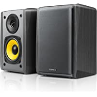 "Edifier R1010BT 4"" Active Bluetooth Bookshelf Speakers - 2.0 Computer Speaker - Powered Studio Monitor (Pair)"