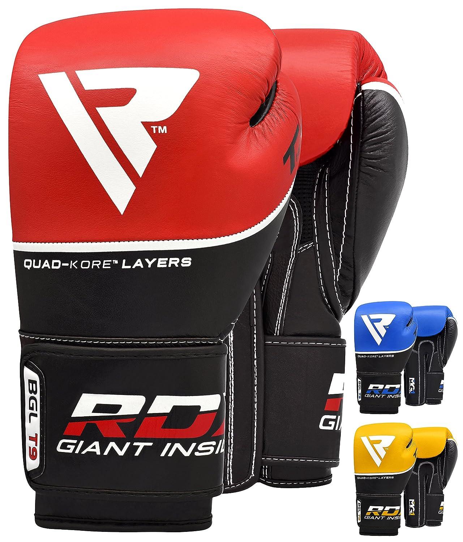 RDX Guantes de Boxeo Kick Boxing Muay Thai Sparring Saco de Entrenamiento