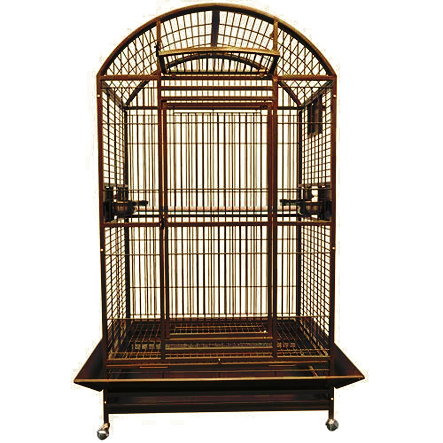 KING'S CAGES 9004030 PARROT CAGE Dome Top Bird Cage With New Locks toy toys  Macaws cockatoo