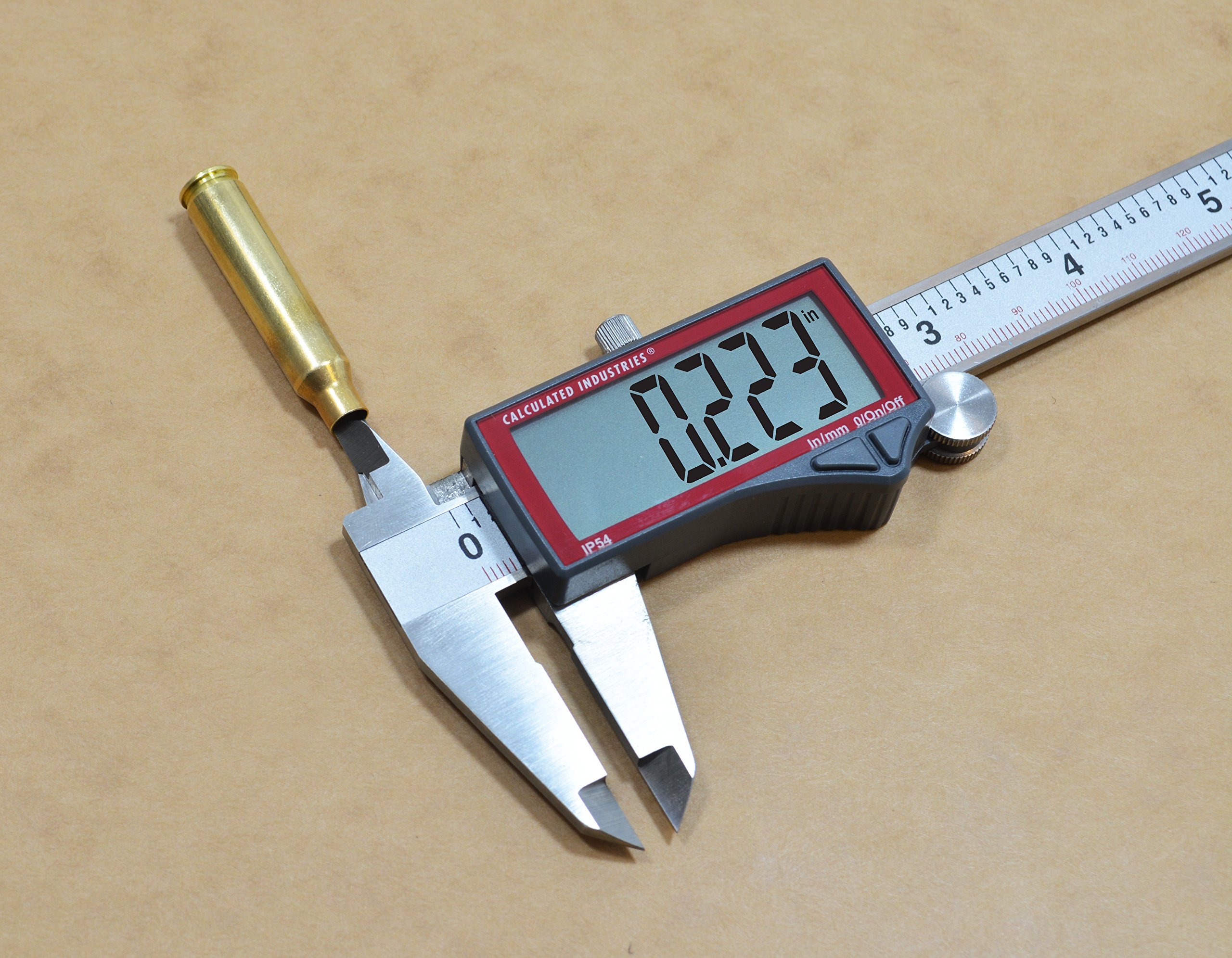 Calculated Industries 7418 AccuMASTER Electronic Digital Vernier Caliper | Metric/SAE Inch to Millimeter Conversion | Tool Measures 0-6 Inches/150mm | Stainless Steel | Largest Display Digits |IP54 by Calculated Industries (Image #13)