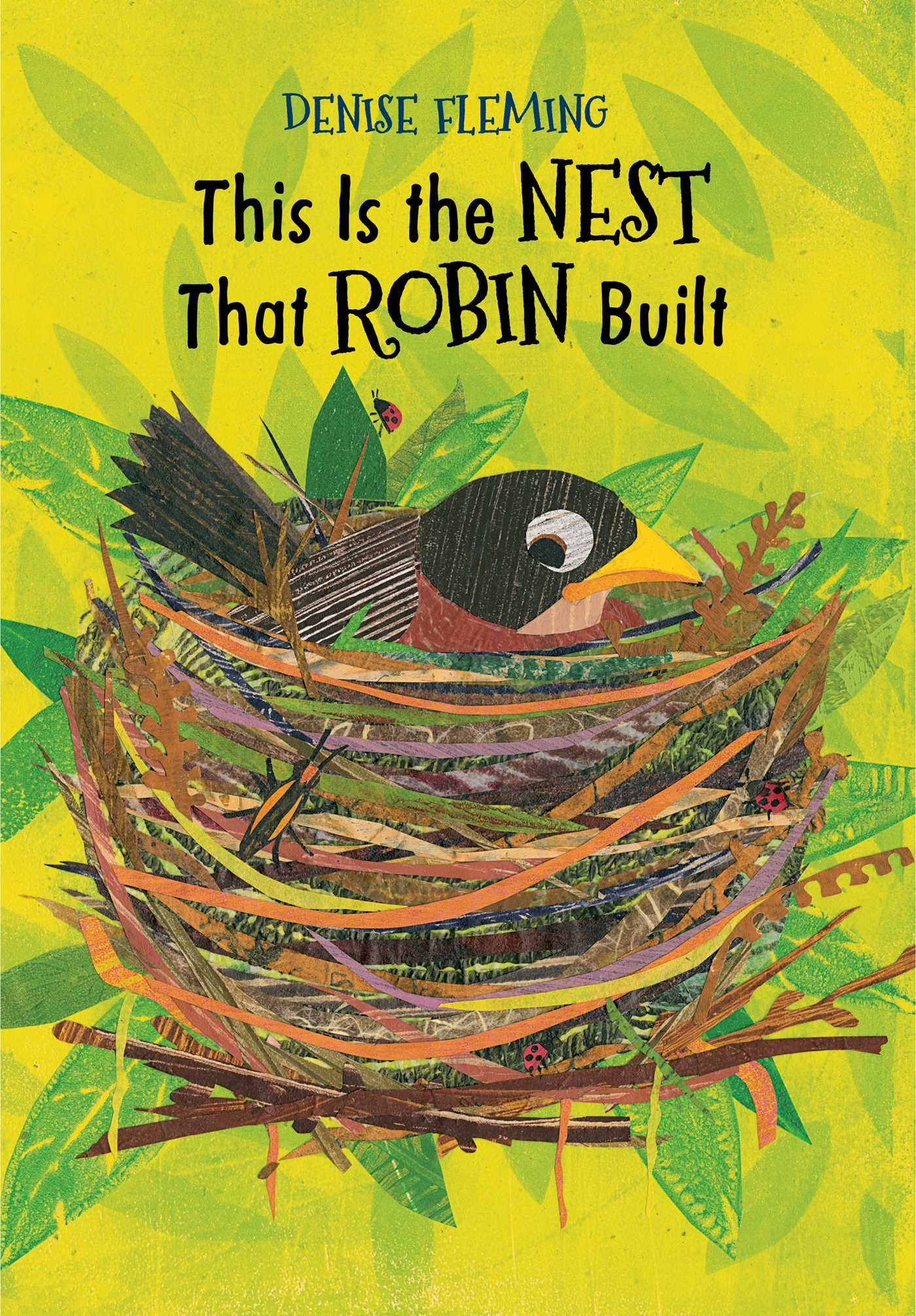 Image result for this is the nest that robin built by denise fleming