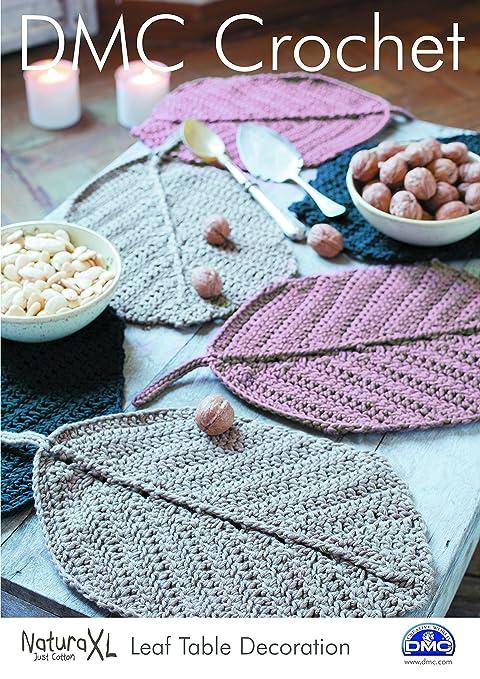 DMC Crochet cadorabo - Funda de cojín geométrico 15235L/2 ...