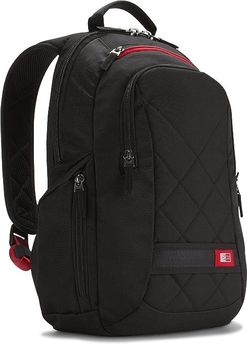 Laptop Backpack Romantic Heart Love Light Blue Stripes Large Capacity Bag Travel Daypack