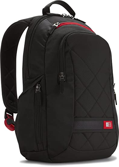 Case Logic Polyester Backpack for 14 inch Laptop - Black
