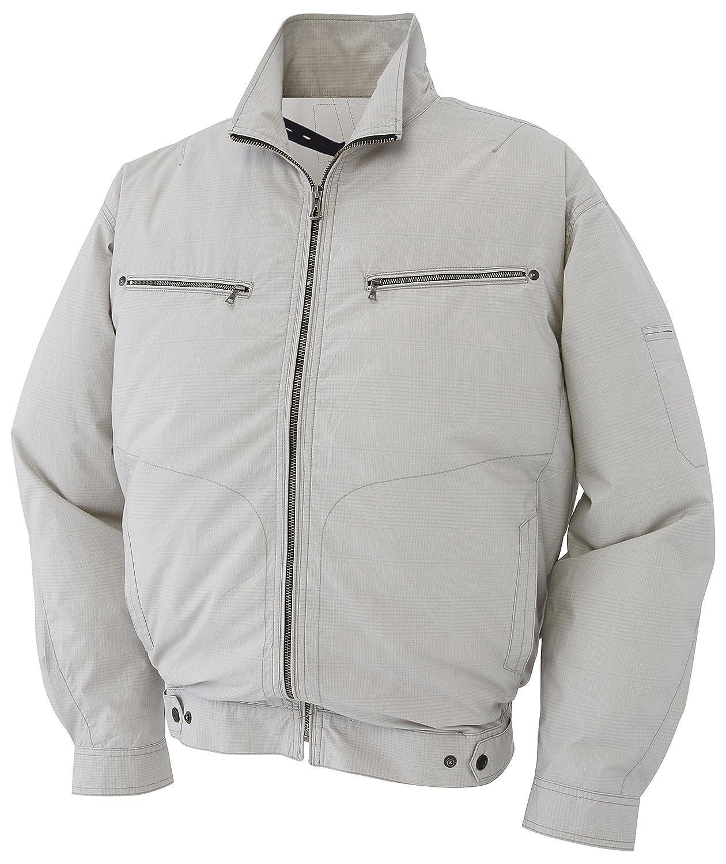 [エアーセンサー] 空調服 迷彩長袖ジャンパー メンズ 258621 B07CWYXX79 5L|迷彩シルバー