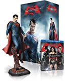 Batman v Superman: DOJ (Amazon-Exclusive) (Superman Figurine) (Ultimate Edition Blu-ray + Theatrical Blu-ray + DVD + UltraViolet Combo Pack)