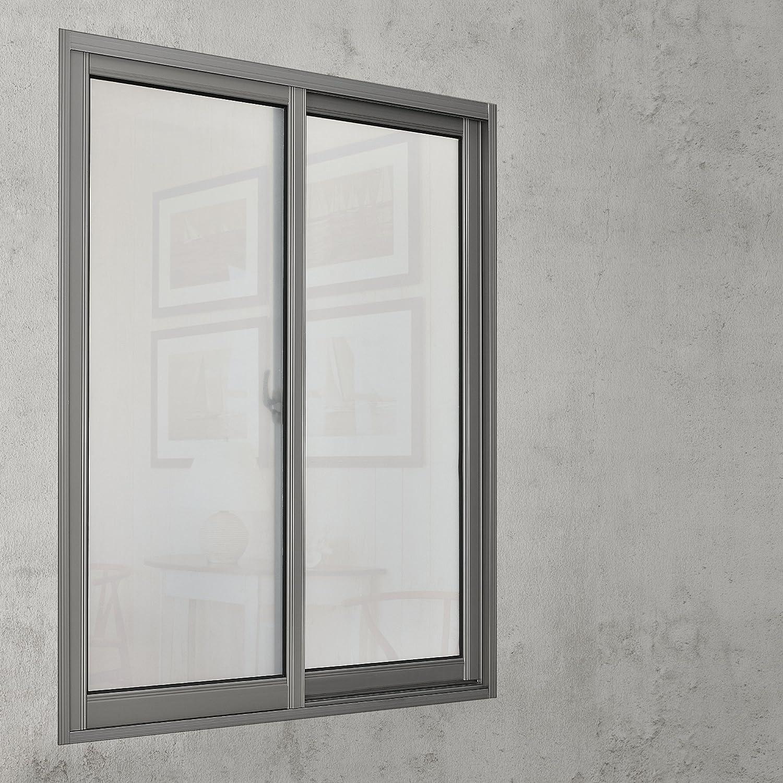 ® Sichtschutzfolie 100cm x 5m statisch Milchglasfolie Fensterfolie casa.pro
