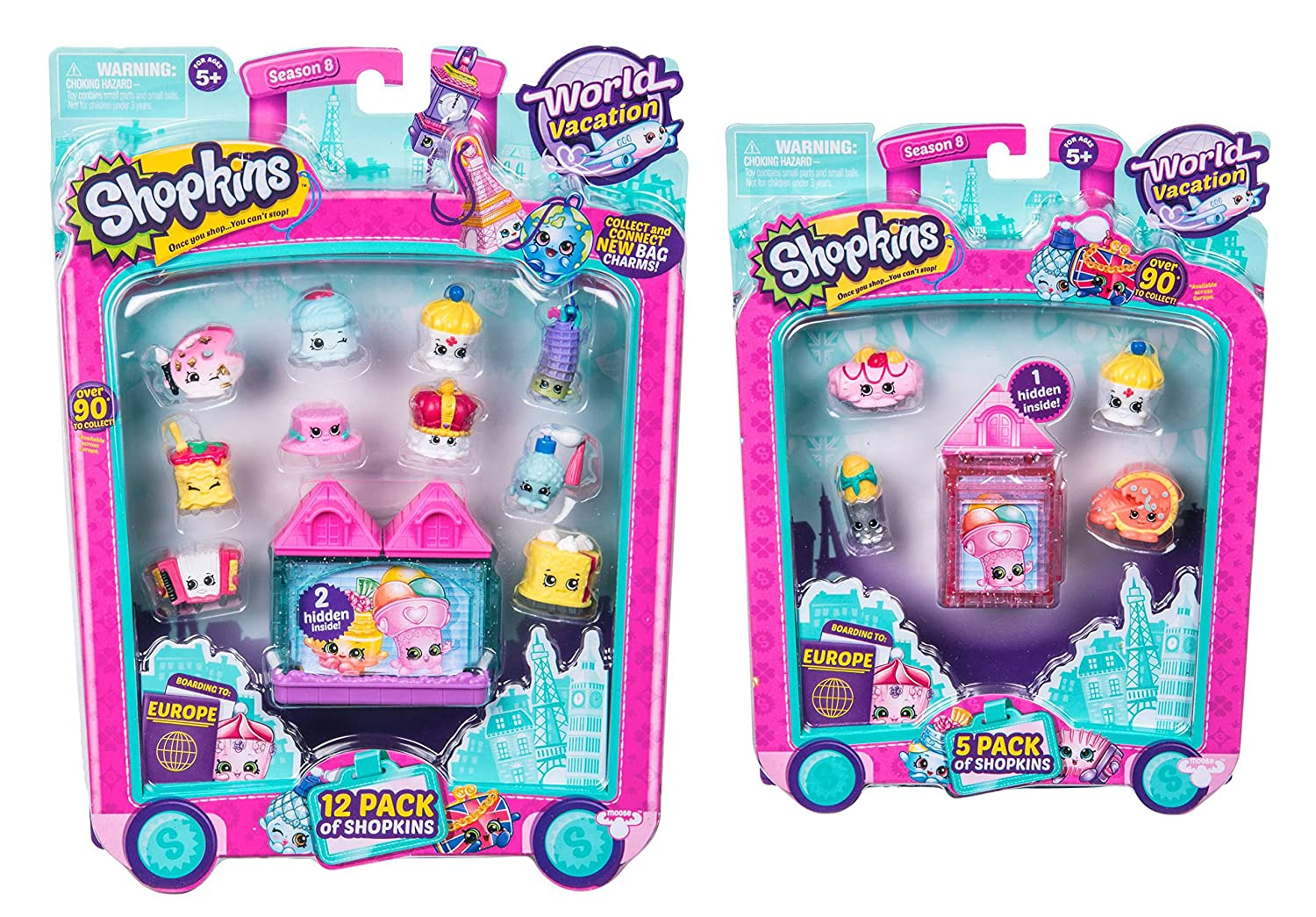 Shopkins Season 8 World Vacation (Europe) Bundle & B073HCGV7T - 5 Bundle Pack & 12 Pack B073HCGV7T, 氏家町:3b6428ab --- arvoreazul.com.br