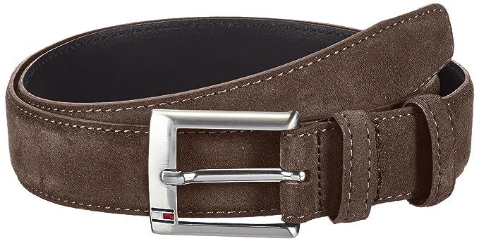 2bad3a4934b Tommy Hilfiger Men's Boston Belt Plain Belt Belt, Brown (Chocolate Brown),  40