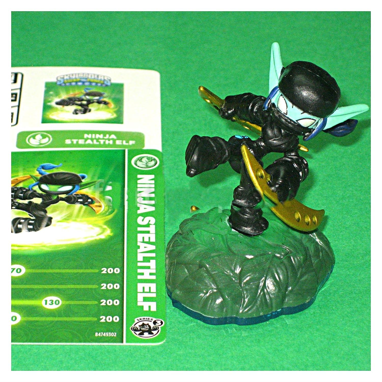 Skylanders Swap Force NINJA STEALTH ELF Series 3 loose NEW figure