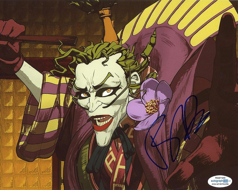Tony Hale Batman Ninja Autograph The Joker Signed 8x10 Photo Acoa At Amazon S Entertainment Collectibles Store