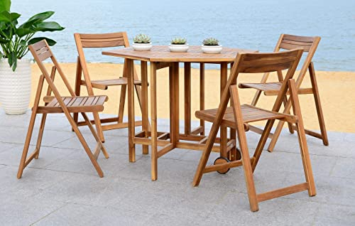 Safavieh Outdoor Living Collection Kerman 5-Piece Dining Set