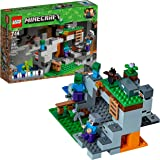 LEGO Minecraft The Zombie Cave 21141 Building Kit with Popular Minecraft Characters Steve and Zombie Figure, separate…