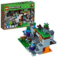 LEGO Minecraft The Zombie Cave 21141 Building Kit with Popular Minecraft Characters...