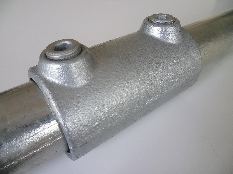 B /& T Acier Tube rond m/étal galvanis/é /Ø 42,4/x 2,00/mm en longueurs de /à 2000/mm 0//3/mm construction Tube ST37/chaud Profil creux 1/1//4