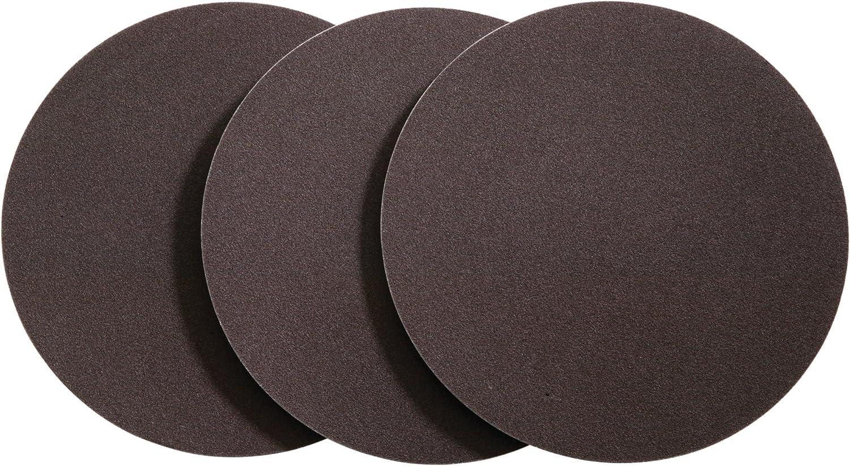 80 Grit 2-Pack Shop Fox D1329 10-Inch Diameter Psa Aluminum Oxide Disc