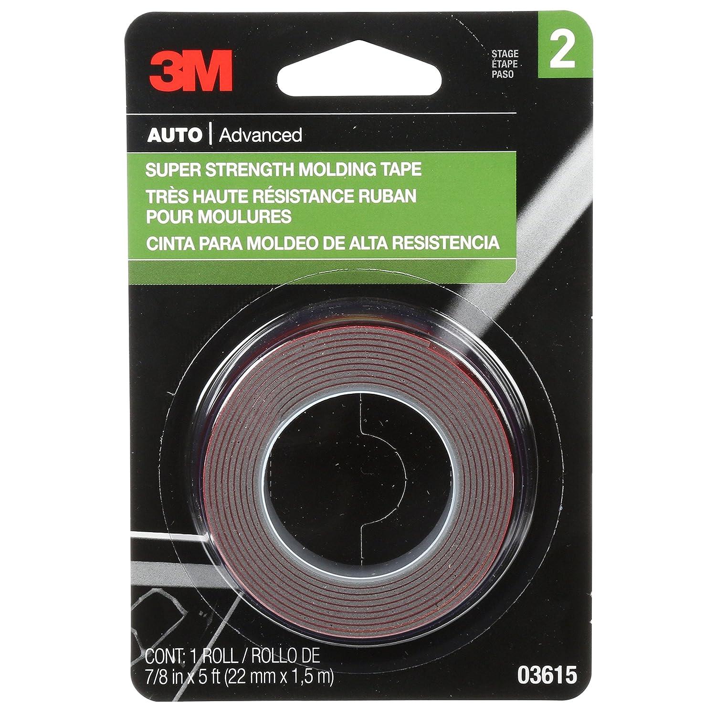 3M 03616 Scotch-Mount 7//8 x 15 Molding Tape