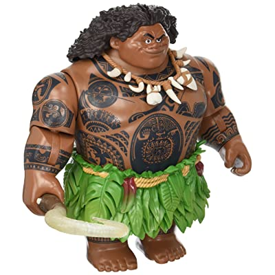 Disney Talking Maui Action Figure Moana: Toys & Games