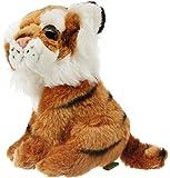 Wild Republic 88749 - Wild Watcher, Tiger mit großen Kulleraugen, 18 cm - NEUHEIT