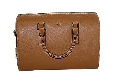 95a60f906286 Amazon.com  Tory Burch Emerson Women s Satchel Style 47390 Leather ...