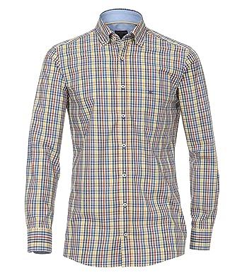 Casa Moda - Comfort Fit - Kariertes Herren Hemd mit Button-Down Kragen  (472676100 5e486b9cc3