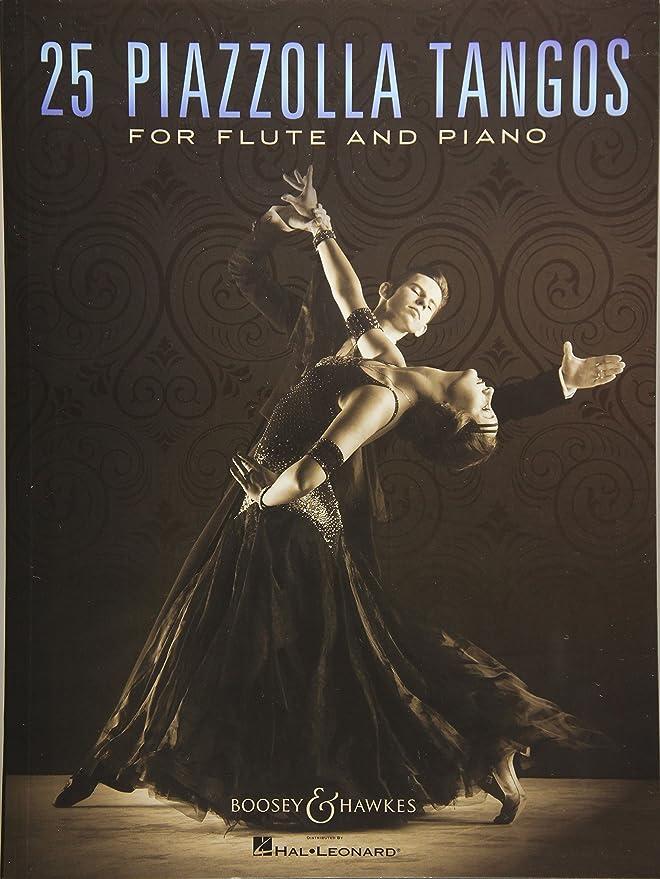 25 Piazzolla Tangos Flûte Traversiere: Piazzolla, Astor: Amazon.es ...