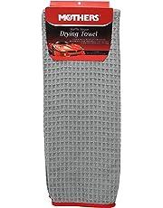 "Mothers 156601 Grey Microfiber Waffle Weave Drying Towel-25"" x 36"""