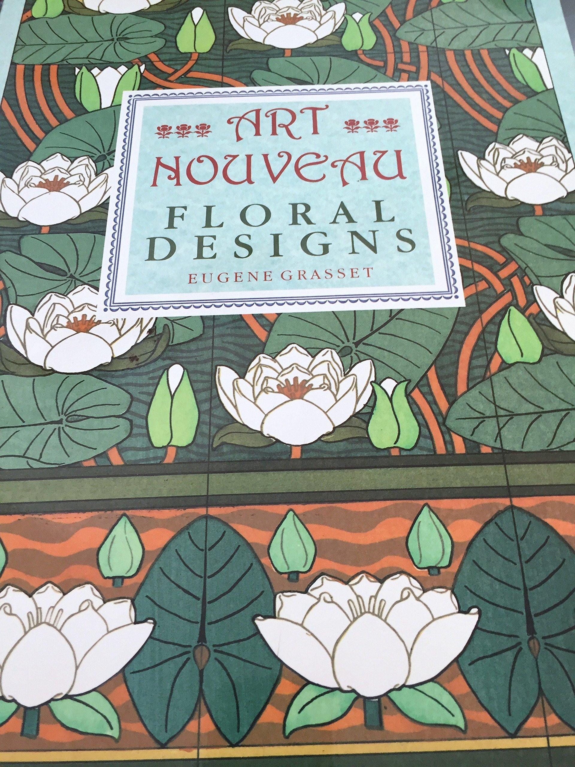 Art Nouveau Floral Designs Poster Art Series Eugène Grasset