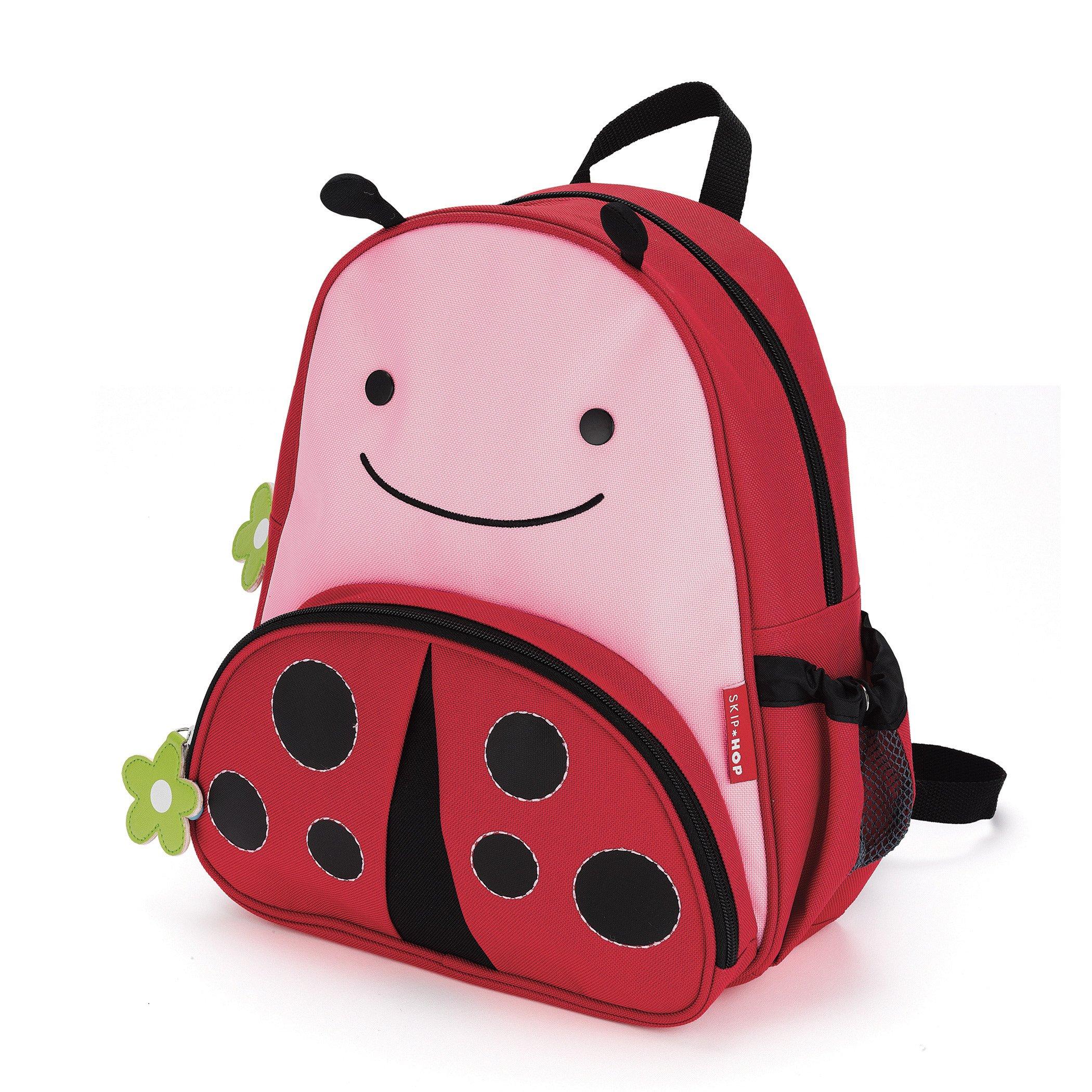 Skip Hop Zoo Insulated Toddler Backpack Livie Ladybug, 12'' School Bag,