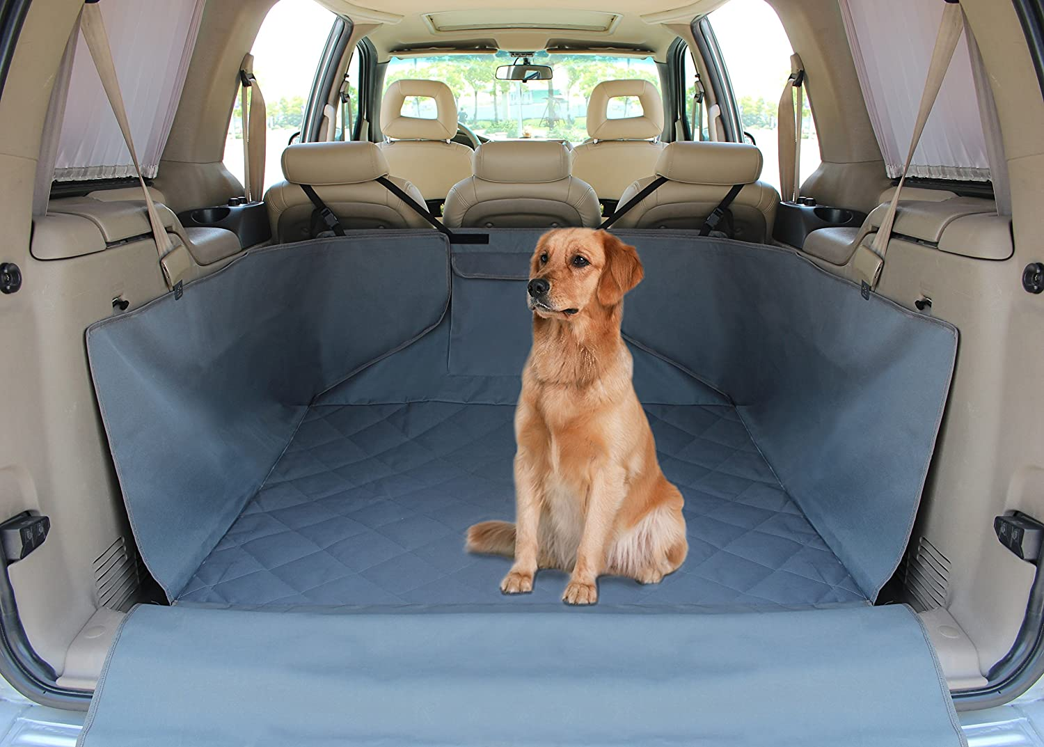 Pet Car Cargo Liner Dog Seat Cover For Cars, Trucks And SUVs, Waterproof