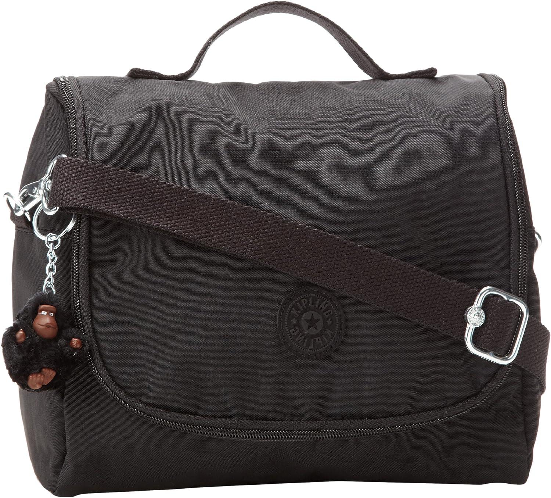 Kipling Kichirou Insulated Lunch Bag, Black, 9