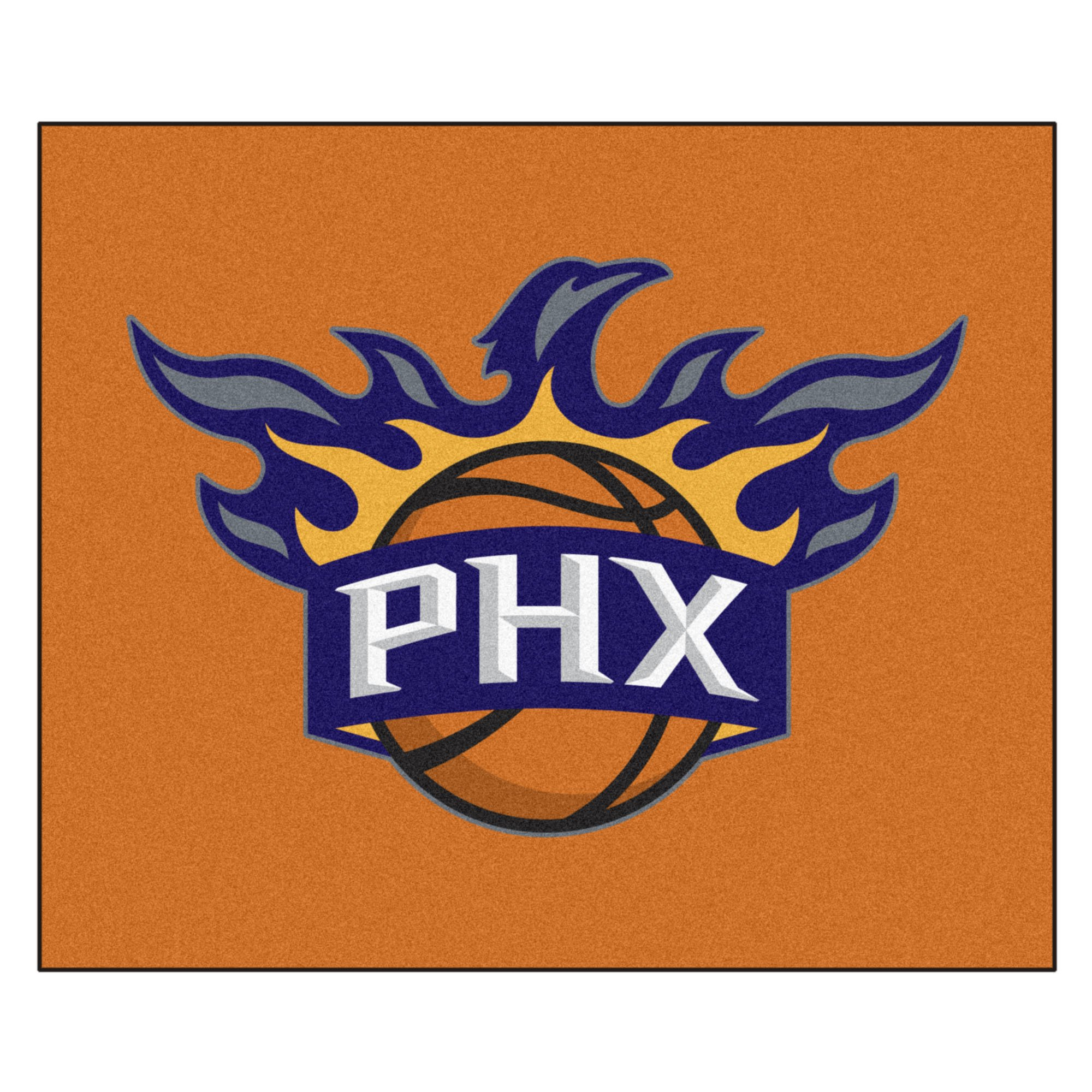 FANMATS 19470 NBA - Phoenix Suns Tailgater Rug , Team Color, 59.5''x71''