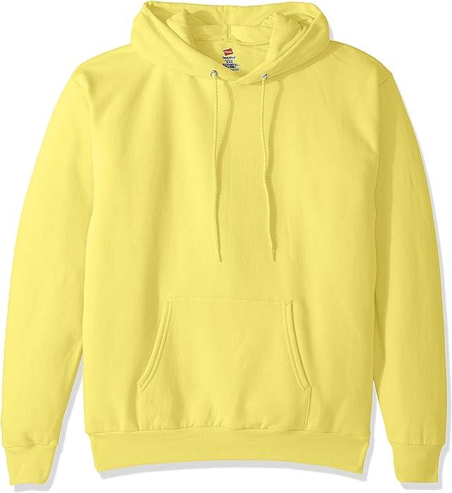 34db4b2e4 Hanes ComfortBlend EcoSmart Pullover Hoodie Sweatshirt, Yellow, 3XL ...
