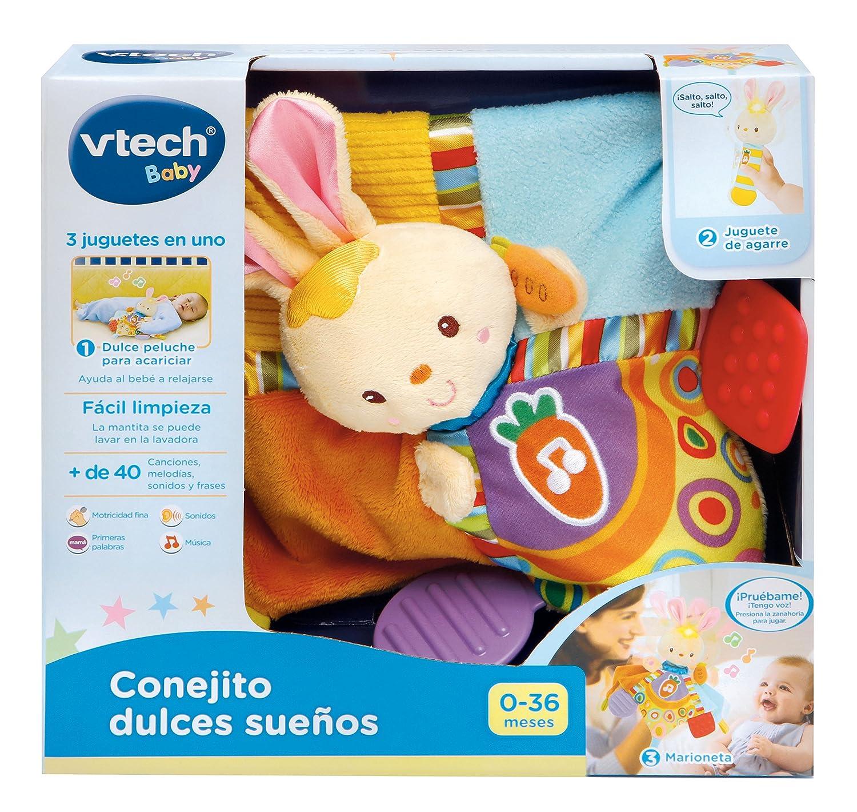 VTech - Conejito Musical Dulces sueños (3480-185722): Amazon.es: Juguetes y juegos