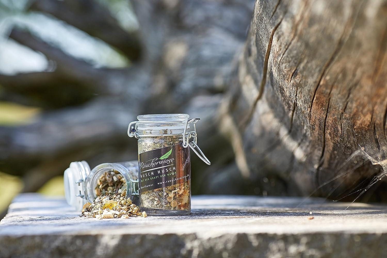 de alta calidad - Gránulos aromáticos para quemador husch husch - Incienso 60 ml: Amazon.es: Jardín