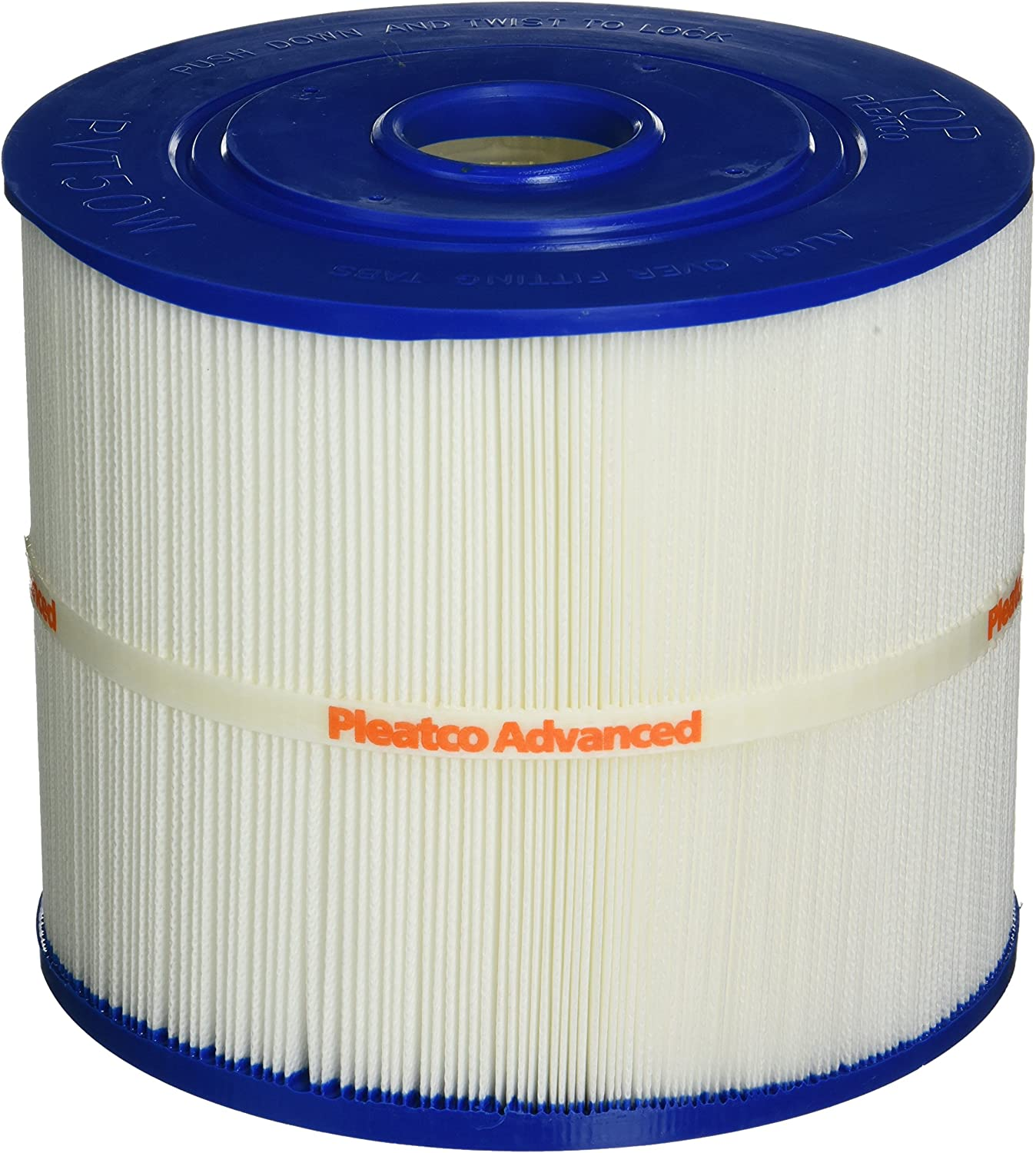 Pleatco PVT50W Replacement Cartridge for Vita Spa Filtration Filter, 1 Cartridge