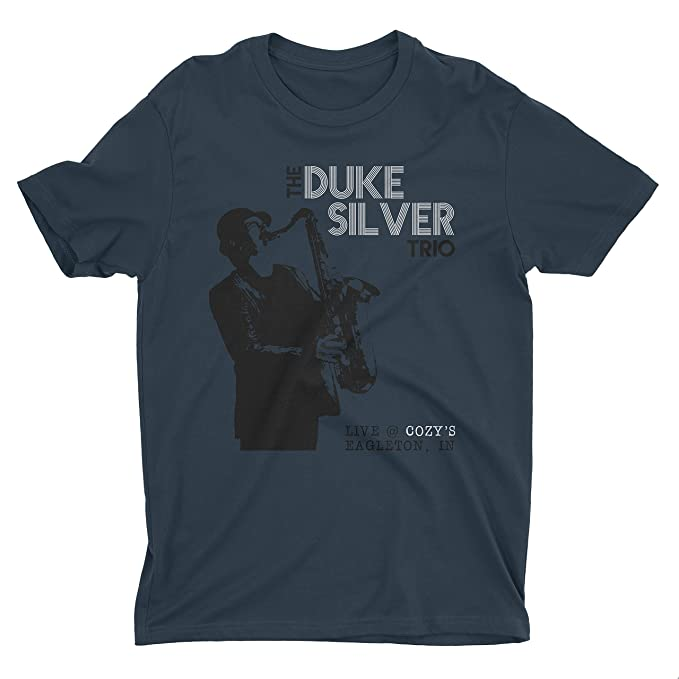 Amazon.com: FunnyFarm camisetas Duke plata Trio playera ...