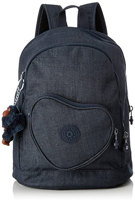 4d1034a40a Kipling - HEART BACKPACK - Kids Backpack - Jeans True Blue - (Blue)   Amazon.co.uk  Luggage